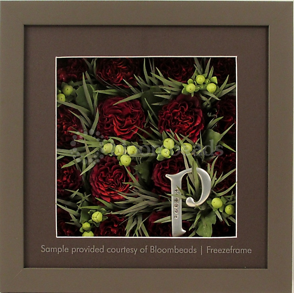 Preserved Wedding Bouquet in Frame with Front Mat 12