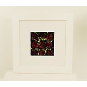 Memory Flowers Preserved in Frame with Front Mat 16X16
