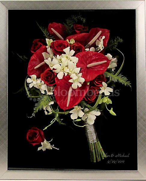 Preserved Bridal Bouquet_14