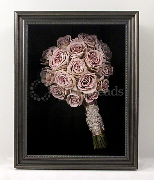 Preserved Quicksand Rose Bridal Bouquet