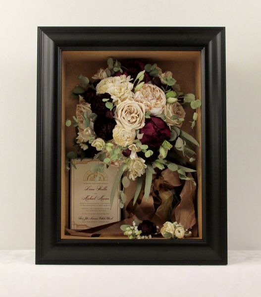 Preserved wedding bouquet Dayton Ohio